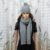 Sciarpa e cappello donna lana
